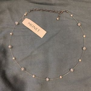 Monet Pearl and Bead Necklace